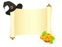 halloween ślimacznica Obrazy Royalty Free