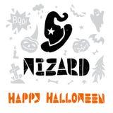 Halloween Lino cut Vector Stock Photos