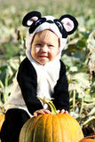 halloween litet barn Royaltyfri Bild