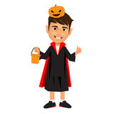 Halloween little child vampire Stock Photography