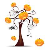 halloween livlig wallpaper Royaltyfri Fotografi