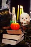 halloween livstid fortfarande Royaltyfri Fotografi