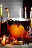 halloween livstid fortfarande Arkivfoto