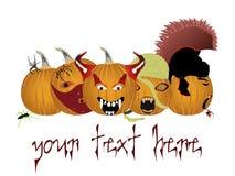 Halloween logo or banner Stock Photo
