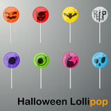 Halloween Lollipop Royalty Free Stock Photo
