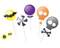 Halloween lollipops Stock Photos