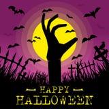 halloween lycklig affisch Arkivbild