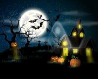 halloween lycklig affisch Royaltyfria Foton