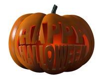 halloween lycklig pumpa Arkivbild