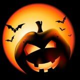 halloween lykta royaltyfri illustrationer