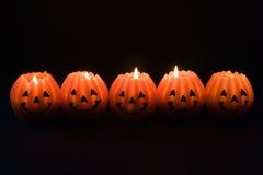 halloween lyktor royaltyfri foto