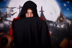 halloween mężczyzna wampir Zdjęcia Stock