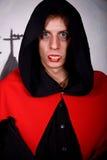 halloween mężczyzna wampir Obrazy Stock