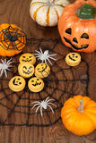 Halloween Macaroons Royalty Free Stock Images