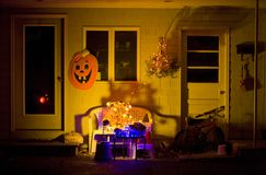 Halloween in Machias Royalty Free Stock Images