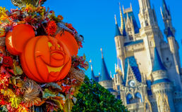 Halloween at Magic Kingdom Royalty Free Stock Image