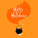 Halloween vector background Royalty Free Stock Photo