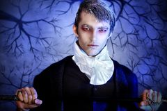 Halloween man Royalty Free Stock Photos