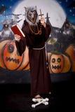 Halloween man character Stock Photography