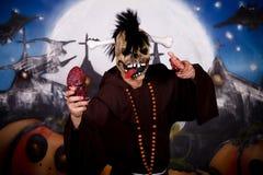 Halloween man character Stock Images