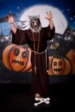 Halloween man character Royalty Free Stock Photography