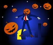 Halloween Man super hero Stock Photo