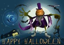 Halloween-Mann Stockbild