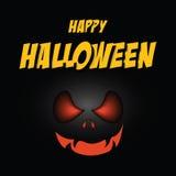 Halloween marquant avec des lettres Halloween heureux Images libres de droits