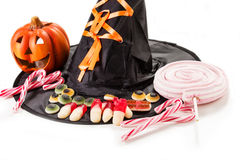 Halloween marshmallows Stock Photography