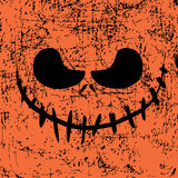 Halloween Mask Background. Modern design ghost halloween picture.Vector composition. Scary mask. Postcard, poster, flyer. Halloween Mask Background Royalty Free Stock Image