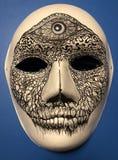 Halloween Mask. Homemade Halloween mask designed by Christopher stock photo