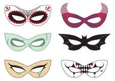 Halloween-Masken Stockbilder