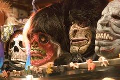 halloween maskeringar Fotografering för Bildbyråer