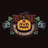 Halloween-Maskottchen Stockbild