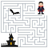 Halloween Maze - Dracula & Haunted House royalty free stock photos