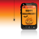 Halloween message Stock Photo
