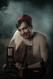 Halloween. The Middle Ages. Jolly Hangman Royalty Free Stock Photos