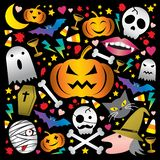 Halloween mignon illustration stock