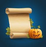 Halloween-Mitteilung Stockbilder