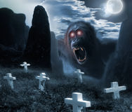 Halloween monster Royalty Free Stock Images