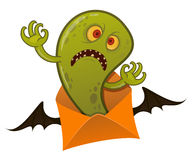 Halloween-monster vector illustratie