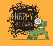 Halloween-monster Stock Afbeelding