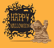 Halloween-monster Royalty-vrije Stock Foto