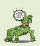 Halloween-Monster Royalty-vrije Illustratie