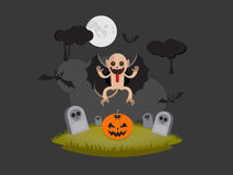 Halloween-monster Stock Afbeeldingen