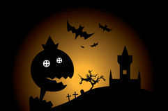 Halloween monster stock illustration