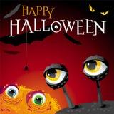 Halloween-Monster Lizenzfreie Stockbilder