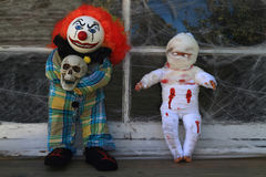 Halloween-Monster-Dekoration Stockbilder