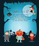 Halloween-monster Gelukkig Halloween, Halloween-Partij Royalty-vrije Illustratie