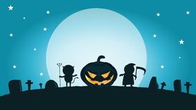 Halloween-monster Gelukkig Halloween, Halloween-Partij Vector Illustratie